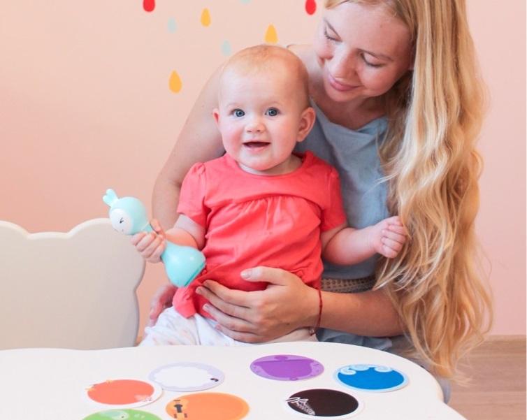 методики раннего развития как научить различать цвета