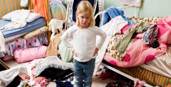 как навести порядок в детской